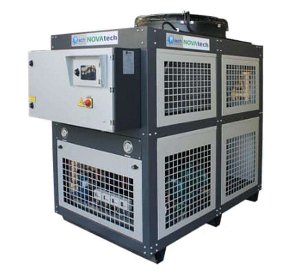 Čileri za hlađenje vode u proizvodnji. SEEP - Novi Sad