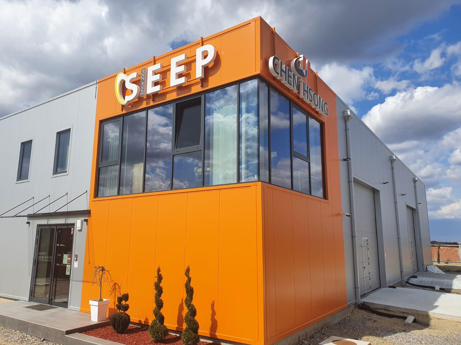 Sjedište firme SEEP koje prodaje mašine za brizganje plastike - Chen Hsong.